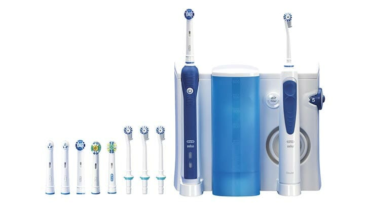 oral-b professional care center 3000 lieferumfang