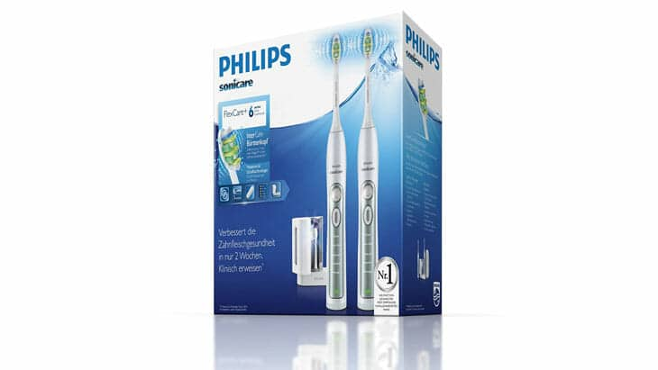 philips sonicare flexcare plus verpackung