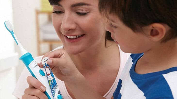 sonicare for kids anwendung