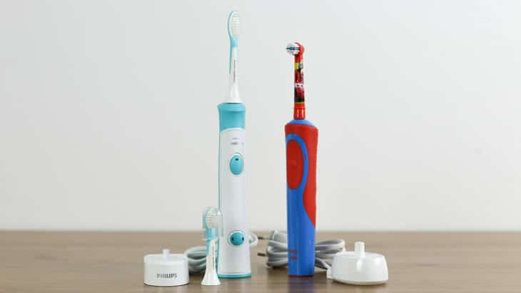 sonicare for kids im vergleich zur power stages kids
